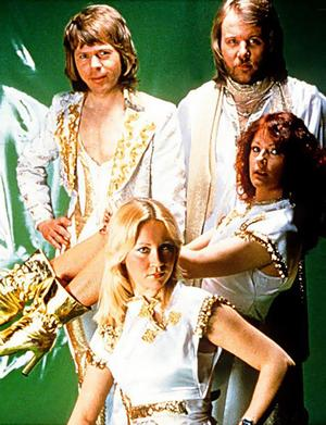 Bjorn, Benny, Frida and Agnetha.