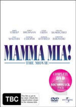 MAMMA MIA! THE MOVIE Complete DVD and Soundtrack pack