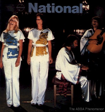 ABBA performing the National jingle