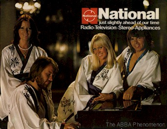 ABBA at the piano